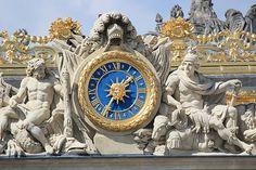 Palace Of Versailles, Exterior, France, Paris, Explore, Antiques, Clocks, Decor, Ancient Architecture