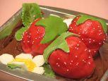 Paula Deen's Strawberry Pound Cake Recipe - Food.com Strawberry Cake Icing, Pound Cake With Strawberries, Strawberry Jello, Pink Glaze Recipe, Lemon Jello, Pound Cake Recipes, Pound Cakes, Recipe Sites, Paula Deen