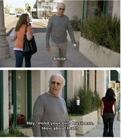Curb Your Enthusiasm. Classic LD (Larry David)