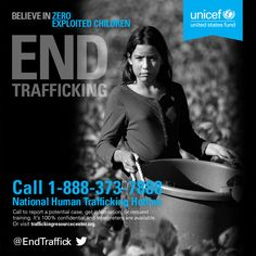 January is National Human Trafficking Awareness Month. Join us and learn how you can help end #childtrafficking!