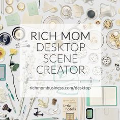 Absolutely amazing FREE download to create your own desktop scenes - for adding images to photos, the possibilities are endless!