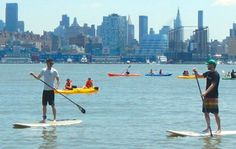 10-Day Festival of the Great Outdoors - OutdoorFest celebrates camping, surfing and hiking in NYC