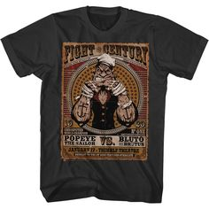 """Checkout our #LicensedGear products FREE SHIPPING + 10% OFF Coupon Code """"Official"""" Popeye T-Shirt - Popeye - T-shirt - Price: $24.99. Buy now at https://officiallylicensedgear.com/popeye-t-shirt-pop5237"""