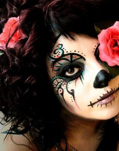 Colorful Day of the Dead.