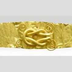 Diadem (crown or headband), 3rd century. Northern Greece. Nasher Art Museum, Duke University.