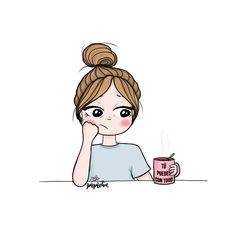 BadassGirlsQuotes Wallpapers for Girls, GirlyWallpapers Cartoon Kunst, Cartoon Art, Art And Illustration, Illustrations, Cartoon Girl Drawing, Girl Cartoon, Cute Cartoon Drawings, Cute Disney Wallpaper, Cute Cartoon Wallpapers
