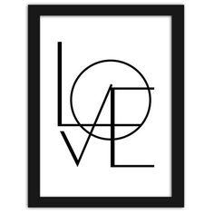 Geometric Love, Plakaty w ramie