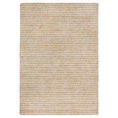 "Wooster Stripe Rug - Natural - (8'3""X11'6"") - Liora Manne"