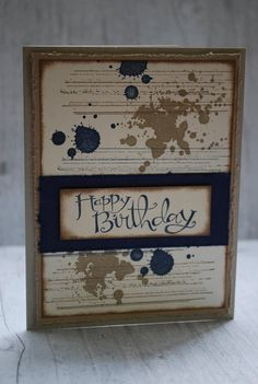 Birthday Card Stampin Up