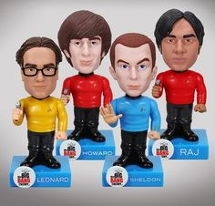Shop Star Trek-inspired merchandise at the Official Big Bang Theory Store. Cast bobbleheads in Star Trek uniforms, posters, hoodies, t-shirts and Howard Wolowitz, Wacky Wobbler, Laughter Therapy, British Things, My Christmas List, Nerd Geek, Big Bang Theory, Bobble Head, Toys