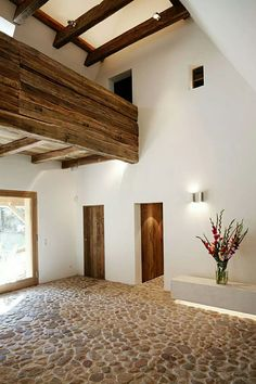 une ferme renovee dans la campagne allemande planete deco a homes world - The world's most private search engine Interior Architecture, Interior And Exterior, Interior Decorating, Interior Design, Home Fashion, My Dream Home, Beautiful Homes, House Plans, Sweet Home