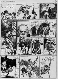 René FOLLET . Les ZINGARI Comic Art