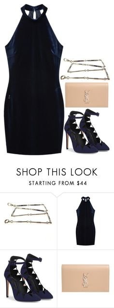"""""""Preadored 6.24"""" by emilypondng ❤ liked on Polyvore featuring MANGO, Yves Saint Laurent and PreAdored"""