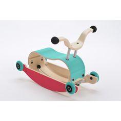 Little Balance Box 2-en-1 jouet /à pousser Trotteur pour b/éb/é