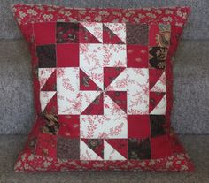 Sandy Quilts: French General Cushions