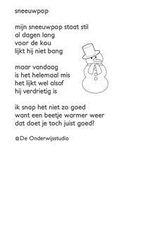 Opzegversje Sneeuwpop