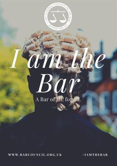 I am the Bar: Social Mobility Insight, How To Become, Career, Encouragement, Student, Bar, Website, Carrera