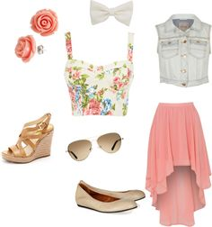 """""""Roses are Pink"""" by jena-khalil on Polyvore"""