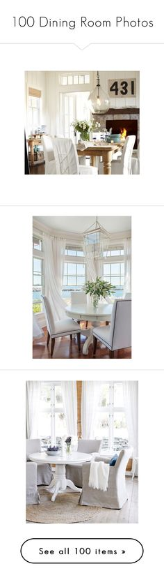 Dining Room Photos By Liked On Polyvore Featuring Home Furniture Chairs Accent Slip Covers Pottery Barn