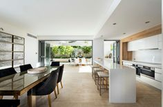 wide space, clean interior