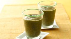 Beginner Green Spinach Smoothies using Green Giant veggies. Sweetened with strawberries and orange juice, this green smoothie is a great way to start your day! This recipe only takes 4 ingredients and 8 minutes to make.