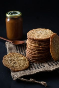 Thin Crispy Coconut Cookies