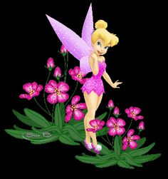 Animated Gif by Nancy Hayes Tinkerbell Quotes, Tinkerbell Pictures, Tinkerbell And Friends, Tinkerbell Disney, Peter Pan And Tinkerbell, Tinkerbell Fairies, Disney Fairies, Cute Disney, Disney Pictures