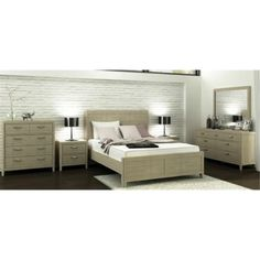Bahia – Suite (King Dresser) King Bed, 2 x 2 Drawer Bedside Tables, 7 Drawer Dresser & Mirror – Acacia/Brushed Light Grey. For more information Please take a moment to visit our website : http://www.furniture2you.com.au/