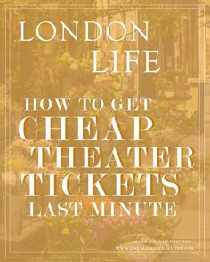How to Get Cheap Theater Tickets at the Last Minute Europe Travel Tips, Budget Travel, Travel Guides, European Travel, Travel Advice, Travel Destinations, Oregon, Arizona, Bag Essentials