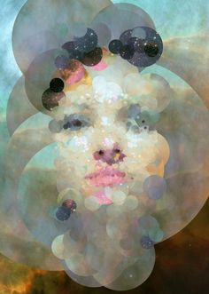 Stardust generative portrait