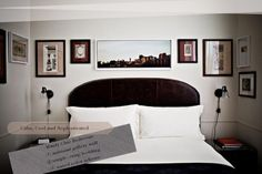 Spicer + Bank: by Allison Egan: Daily Detail: A Manly Bedroom Haven