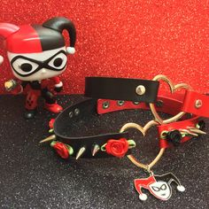 ♦️Harley Quinn Heart Chokers! All designs now relisted Puddin's! ♦️ #harleyquinn