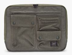 White Mountaineering Cargo Laptop Case //