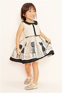 Buy Cat Scene Dress (3mths-6yrs) from the Next UK online shop