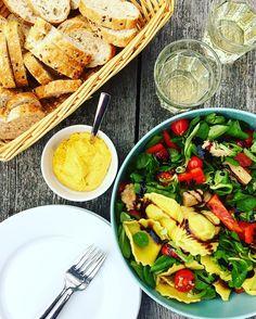 Zomerse Ravioli-Salade | food health and happiness