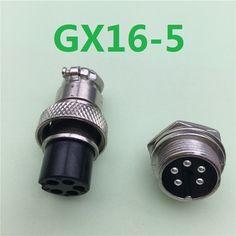 1 bộ GX16 5 Pin Nam & Nữ Đường Kính 16 mét Dây bảng điều chỉnh Kết Nối L73 GX16 Thông Tư Kết Nối Hàng Không Socket Cắm Miễn Phí Vận vận chuyển