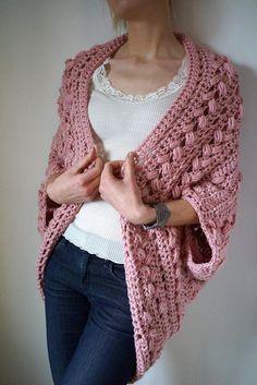 Crochet Cardigan pattern PDF – Inmost Cardigan – crochet jacket pattern in English – The Best Ideas Crochet Jacket Pattern, Black Crochet Dress, Crochet Cardigan Pattern, Crochet Shawl, Easy Crochet, Crochet Stitches, Free Crochet, Crochet Patterns, Crochet Tops