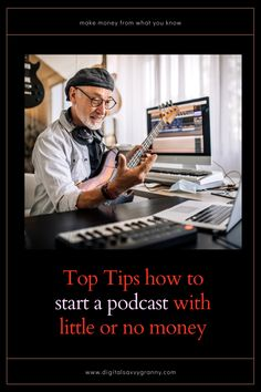 What is there that you know more about than anybody else? What do people keep coming to you to ask about? Share what you know by starting a podcast and generate some income at the same time. Cool thing is, it can be done with little to no money, using what you already most likely have. Podcasting, podcast host, podcast equipment, podcasting tips Retirement Money, Retirement Planning, Starting A Podcast, Aging Gracefully, Getting Things Done, Online Courses, How To Make Money, Medical, Digital