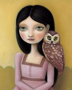 'Evelyn' (the little daydreamers) by Marisol Spoon