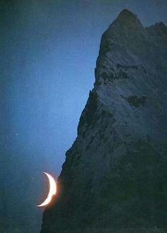 Waxing Crescent Moon ~