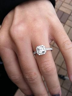 Princess Cut with a Halo setting.... I mean that's all I want.