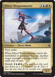 Magic: the Gathering - Efreet Weaponmaster (175/269) - Khans of Tarkir