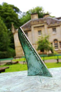 Sundial in The Hermitage of Braid Edinburgh