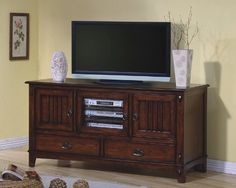 Mission Style Two Drawer TV Stand by Coaster Home Furnishings, http://www.amazon.com/dp/B000ZLCZ20/ref=cm_sw_r_pi_dp_Fq9prb0M9GNFE