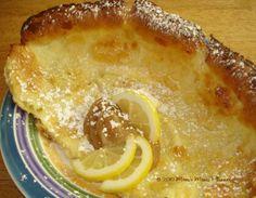 German Pancake Traditional~recipe