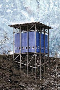 Peter Zumthor: Zinc Mine Museum: Allmannajuvet, Norway