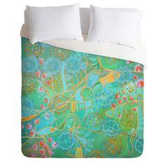DENY Designs Stephanie Corfee Secret Garden Duvet Cover Collection