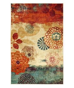 Look what I found on #zulily! Pandora Printed Rug #zulilyfinds