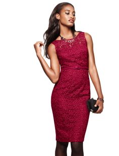 Every girl needs a little red dress!  #givecompliments #whbm #holiday