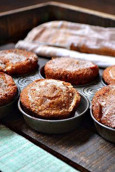 Snickerdoodle Pumpkin Muffins @Bakeaholic Mama
